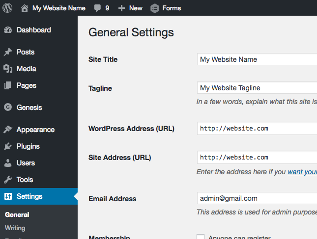 add-html-tabs-in-the-wordpress-tagline
