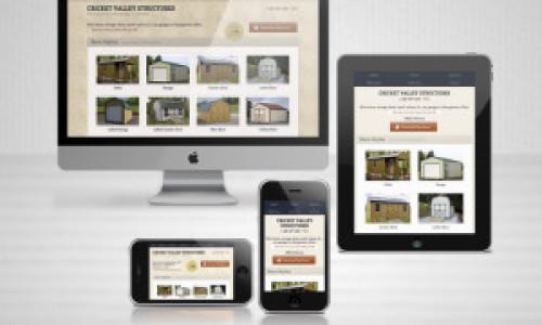 Cricket Valley Structures Website