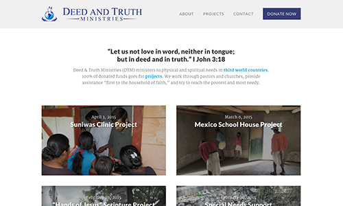 Deed and Truth Ministries