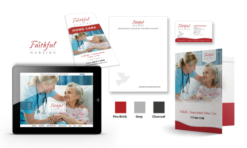 Faithful Nursing Branding