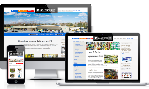 JB Hostetter Website Redesign