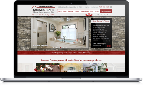 Shakespeare Website Redesign