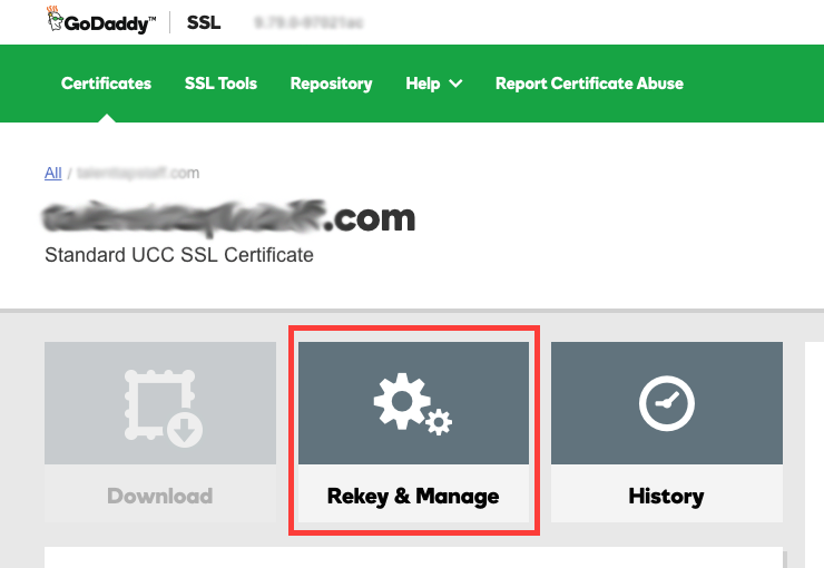 How to Get SSL Certificate Keyfile from GoDaddy - Sarah Moyer