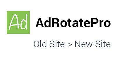 How to move AdRotate Pro from current site to development site