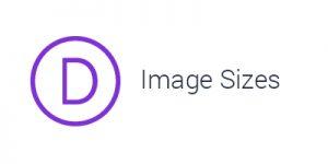 Divi Image Sizes