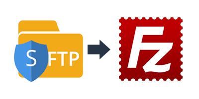 How to connect to sFTP in FileZilla