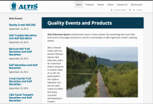 Altis Endurance Sports Website
