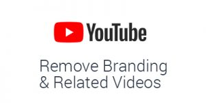 How to remove YouTube Related Videos and YT branding