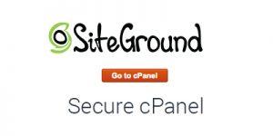 Easy fix to secure cPanel in SiteGround