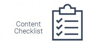 Website Content Checklist